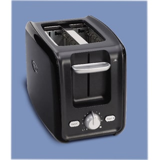 Oster 2-Slice Black Retractable Cord Toaster