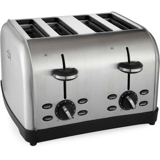 Oster 4-slice Stainless Steel Retractable Cord Toaster