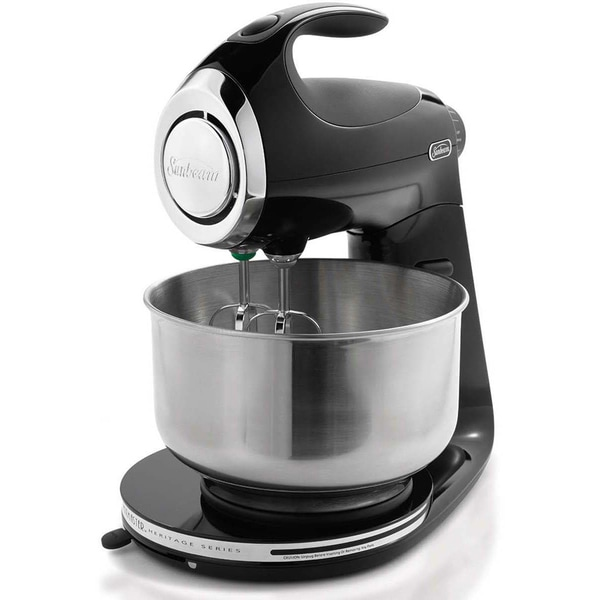 Shop Sunbeam Heritage Series Black Stand Mixer Free