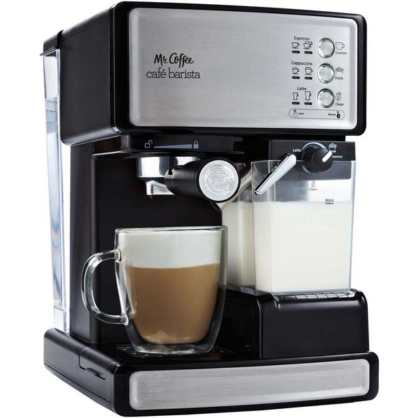 Mr. Coffee Cafe Barista Premium Espresso Machine. Opens flyout.