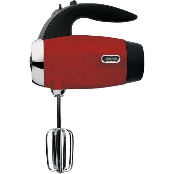 Shop Sunbeam Heritage Series Metallic Red Hand Mixer Free Shipping On Orders Over