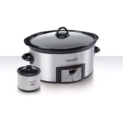 Crock-Pot 6-quart Countdown Slow Cooker with Dipper