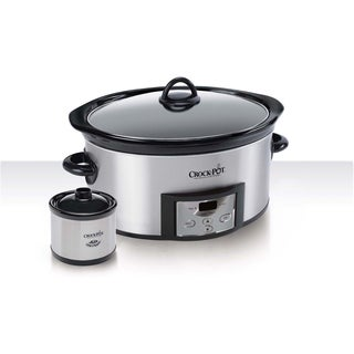 Crock-Pot 6-quart Countdown Slow Cooker with Dipper