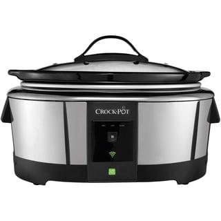 Crock-Pot 6-quart Smart Slow Cooker with WeMo (Wi-Fi Enabled)