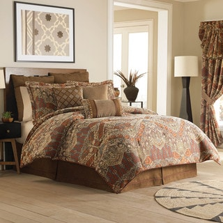 Croscill Salida Brown 4-piece Comforter Set
