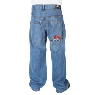 JNCO Stone Wash Half Pipes