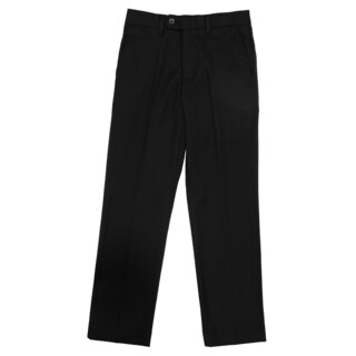 Ferrecci Boy's Premium 'Ezra' Black Regular Fit Dress Pants
