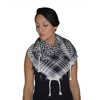 Handmade Arab Fashion Shemagh Scarf Shawl (Morocco) https://ak1.ostkcdn.com/images/products/10706227/P17766005.jpg?impolicy=medium