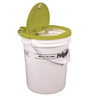 Flambeau 5-gallon Insulated Bucket with Premium Bait Bucket Lid
