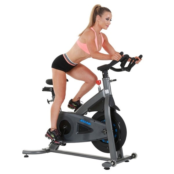 ASUNA 5150 Magnetic Turbo Commercial Indoor Cycling Trainer Bike - Silver