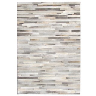 Oliver & James Sam Hand-stitched Cowhide Rug - 8' x 10'