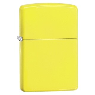 Zippo Classic Neon Yellow Lighter