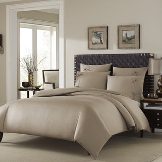 Stone Cottage Winslet Driftwood Cotton Sateen Duvet Cover Set