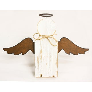 Natural Reclaimed Rustic 11-inch Angel