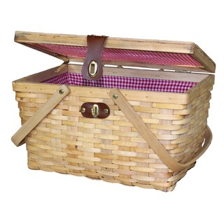 Large Gingham Lined Wood Picnic Basket|https://ak1.ostkcdn.com/images/products/10706488/P17766178.jpg?_ostk_perf_=percv&impolicy=medium