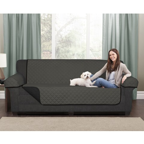 "Maytex Reversible Microfiber Loveseat Pet Cover - 45x69"" without arms"
