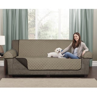 Maytex Reversible Microfiber Loveseat Pet Cover