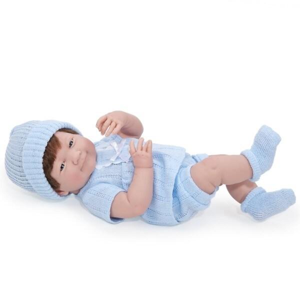 Cuddly Realistic Newborn Boy Doll