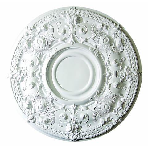 Exquisite 28-inch Round Ceiling Medallion