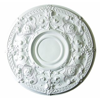 Exquisite 28-inch Round Ceiling Medallion