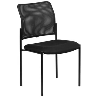 Mesh Comfortable Stackable Steel Side Chair