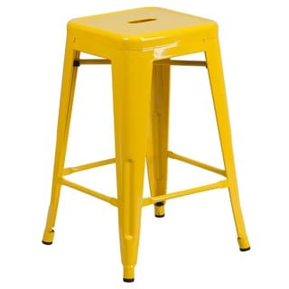 Backless Metal Barstool