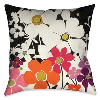Laural Home Power Garden I Decorative 18-inch Throw Pillow