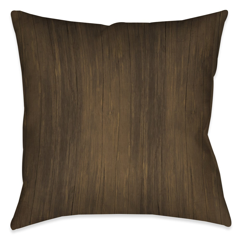 Shop Laural Home Rustic Cabin I Decorative 18-inch Throw Pillow - Overstock - 10706835