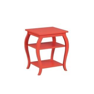 Powell Ingrid Orange Table