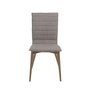 Yoland Grey/ Walnut Dining Chairs (Set of 2)