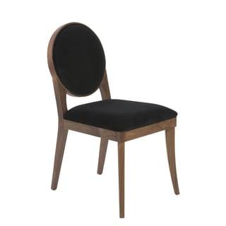 Hallie Black / Walnut Dining Chairs (Set of 2)