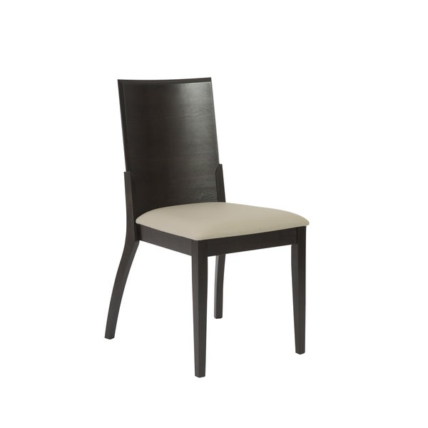 Touchstone Light Grey/ Wenge Dining Chairs (Set Of 2)
