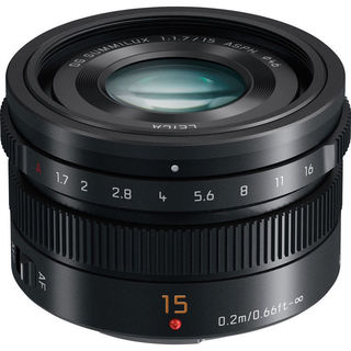 Panasonic LUMIX G Leica DG Summilux 15 mm Lens