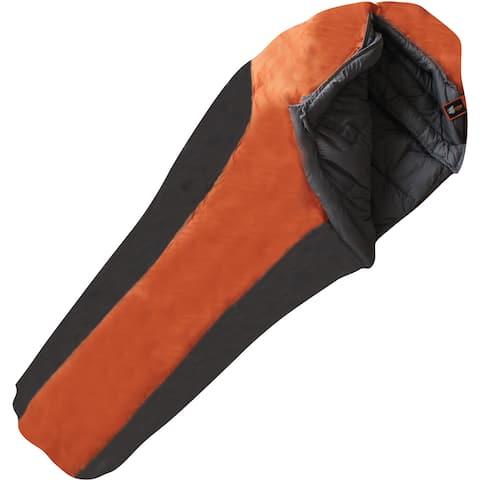 Moose Country Gear Frontier -20 Degree Midsize Sleeping Bag - Orange/Black