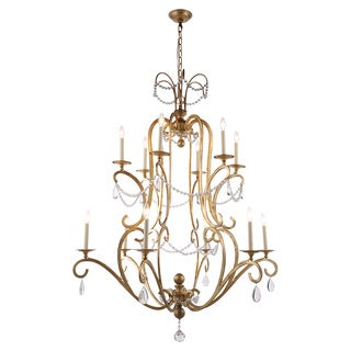 Sarina Collection 1420 Pendant Lamp with Golden Iron Finish