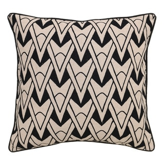 Kosas Home Oliver Black 22-inch Throw Pillow