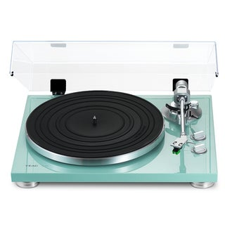 TEAC TN-300-TB Turquoise Turntable with Built-in Pre-amplifier and USB Output