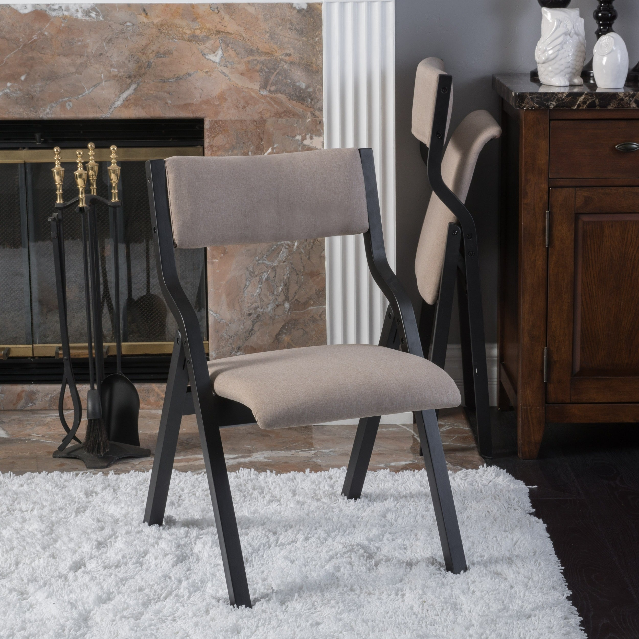 Aneka Folding Chair By Christopher Knight Home