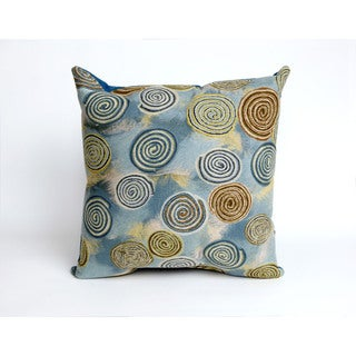 Spiral 20-inch Throw Pillow