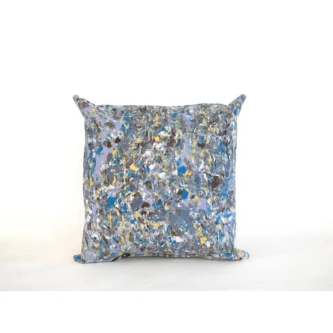 Spattered Marble 20-inch Throw Pillow