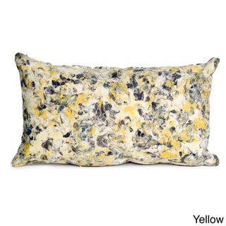 Spattered Marble Throw Pillow
