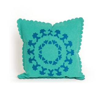 Lace Spiral 20-inch Throw Pillow