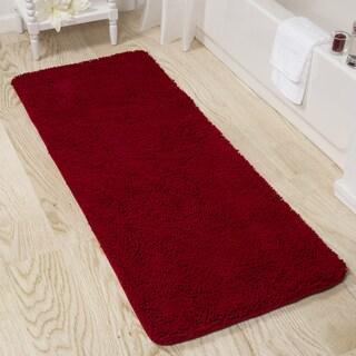 Great Windsor Home 24 X 60 Inch Memory Foam Shag Bath Mat