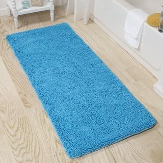 Windsor Home Memory Foam Shag Bath Mat - 24 x 60 inches