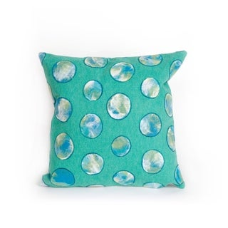 Colored Circles 20-inch Throw Pillow
