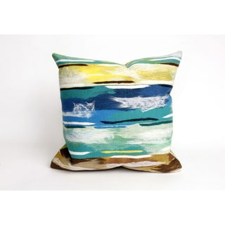 Artistic Stripe 20-inch Throw Pillow
