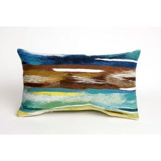 Artistic Stripe Throw Pillow