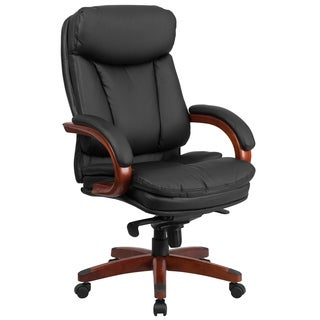high back leather chair brown leather office chairs