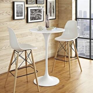 Lippa 28-inch White Bar Table