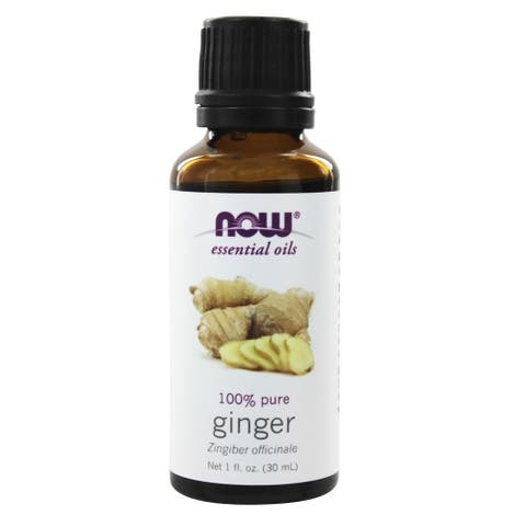Now Foods 100-percent Ginger Essential Oil